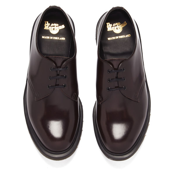 dr martens men 39 s 39 made in england 39 core 1461 leather. Black Bedroom Furniture Sets. Home Design Ideas