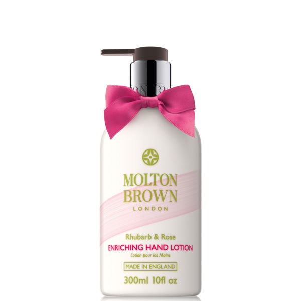 Molton Brown Rhubarb and Rose Hand Lotion 300ml (Limited Edition)