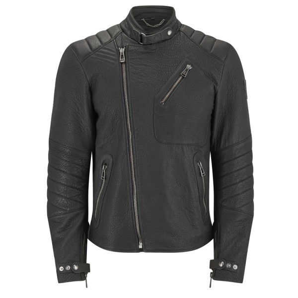 Belstaff Kendal Leather Jacket Black