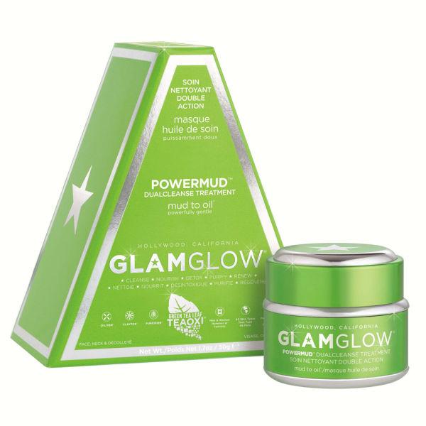 GLAMGLOW POWERMUD Dual Cleanse Mask Treatment (50g)