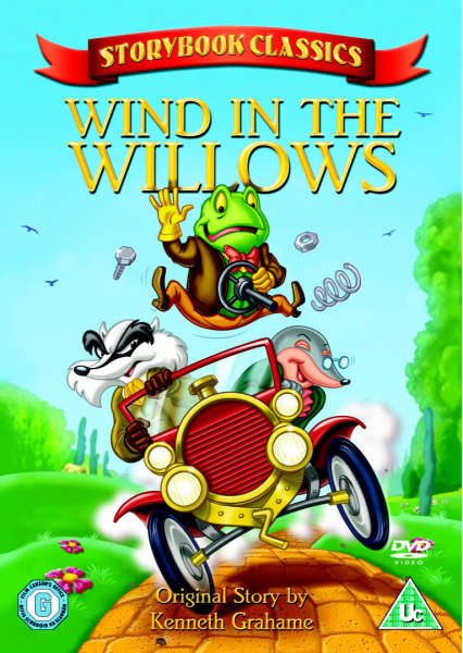 Storybook Classics Wind In The Willows Dvd Zavvi