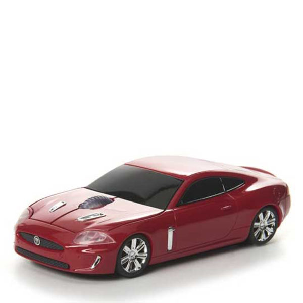 Road Mice Jaguar XKR Red Wireless Mouse Computing
