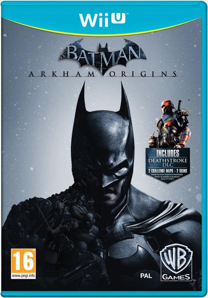 Batman Arkham Origins Wii U Zavvi