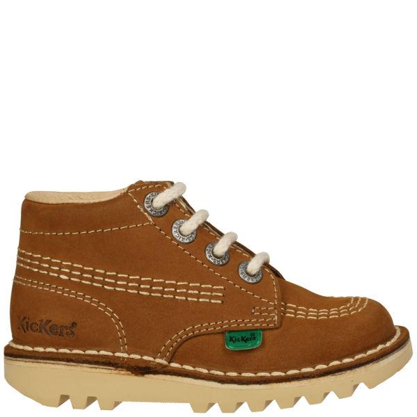 Kickers Infant Kick Hi Boots - Tan