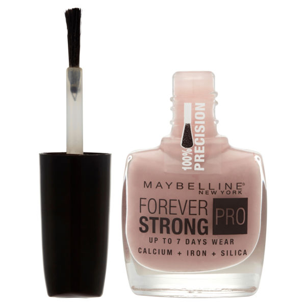 Maybelline forever strong nail varnish rose poudr for 24 hour nail salon new york