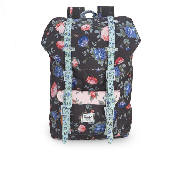 Herschel Supply Co. Little America Mid-Volume Backpack - Black Floral - Free  UK Delivery over £50 63f0f6b54b
