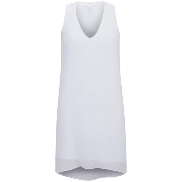 Helmut Lang Women's Drape Dress - Soft White