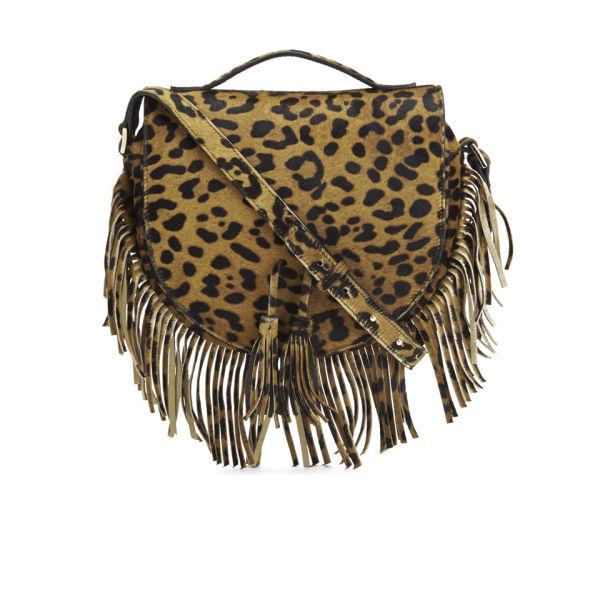 meli melo Women's Tallulah Luxury Crossbody Bag - Cheetah