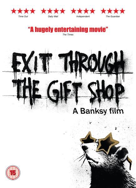 Exit Through The Gift Shop A Banksy Film Dvd Zavvi