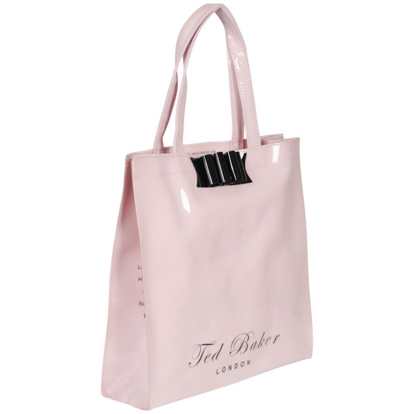 02e8f4a2b9441 Ted Baker Belecon Bow Ikon Tote Bag - Pale Pink  Image 2