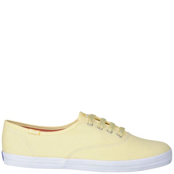 Keds Champion Oxford Pumps - Pastel Yellow