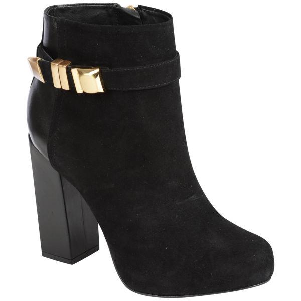Kat Maconie Women's Lauren Heeled Buckle Boots - Black