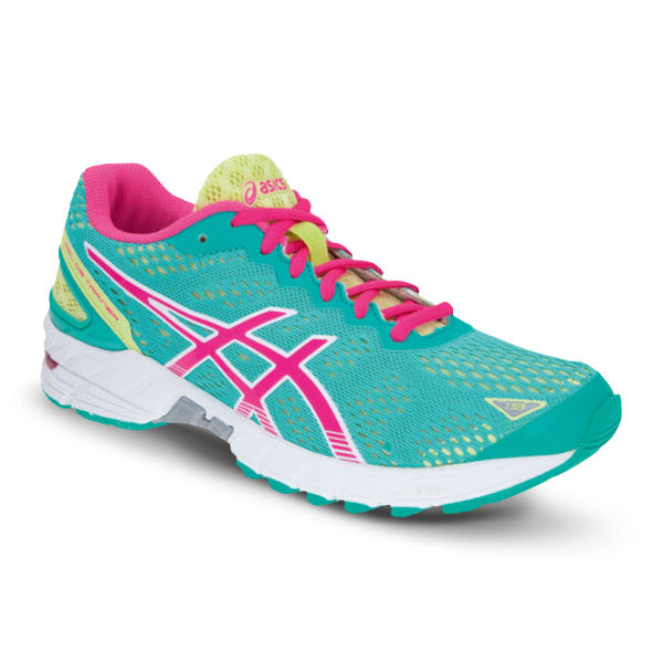 Asics Women's Gel Ds Running Trainers - Green/Pink