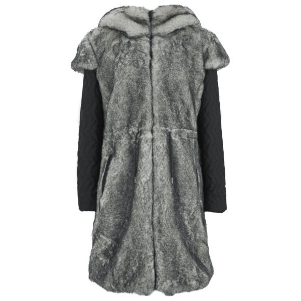 Christopher Raeburn Women's Faux Fur Coat - Polar Fox