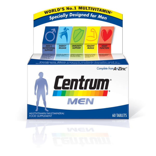 Centrum Men (60 comprimés)