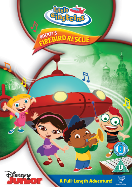 Little Einsteins Rockets Firebird Rescue Dvd Zavvi