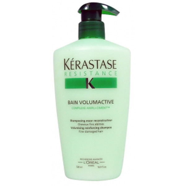 K rastase resistance bain volumactive 500ml free for Bain miroir 1 kerastase
