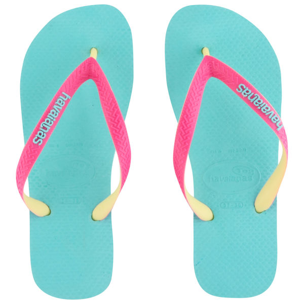 Havaianas Women's Top Mix Flip Flops - Pool Green