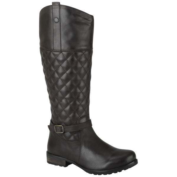 Barbour Women's Salisbury High Leg Quilted Boots - Brown