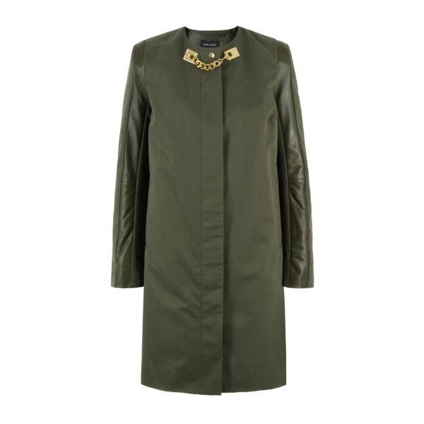 Sophie Hulme Women's 3D Sleeve Coat - Khaki