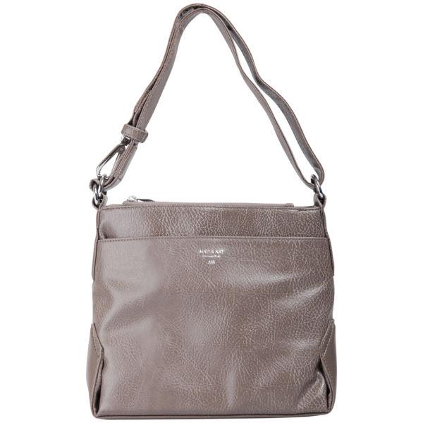 Matt & Nat Jorja Small Hobo Bag - Taupe Clothing | TheHut.com