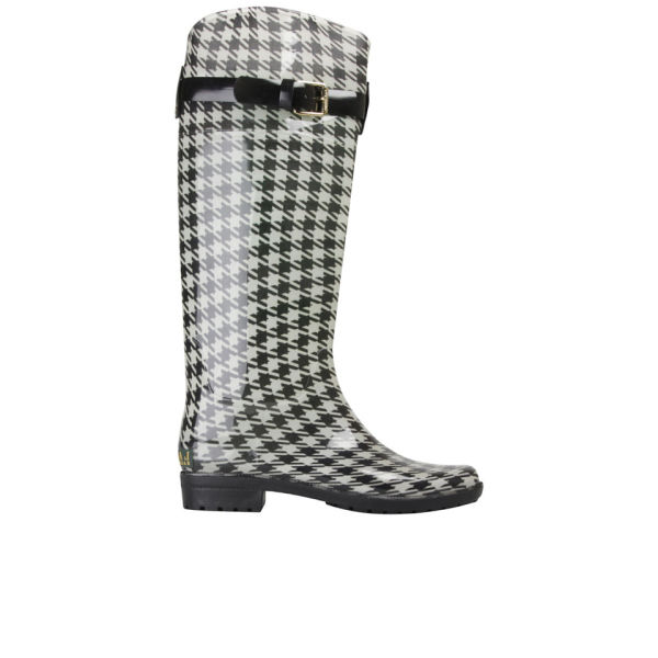 Lauren Ralph Lauren Women's Rossalyn Wellington Boots - Black/Cream