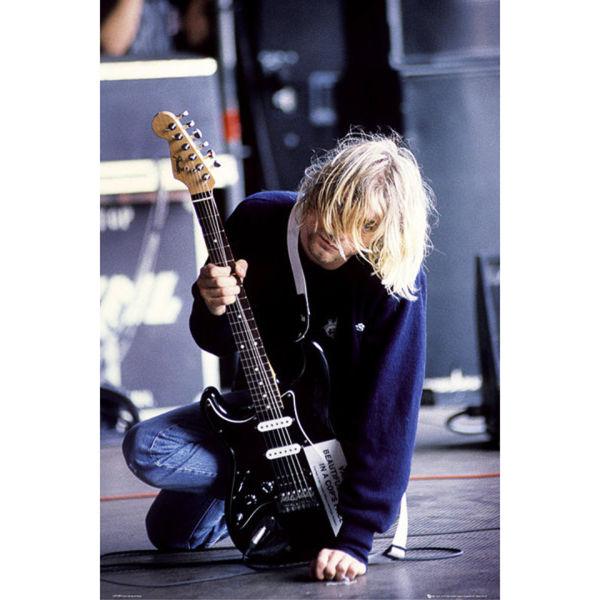 Kurt Cobain Guitar - Maxi Poster - 61 x 91.5cm