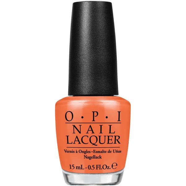 OPI Coca-Cola Collection - Orange You Stylish!