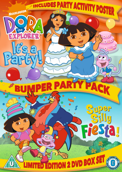 Dora Explorer - Bumper Party Pack
