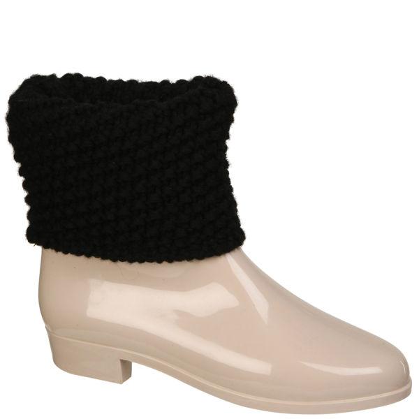 Melissa Women's Tricot Boots - Vanilla