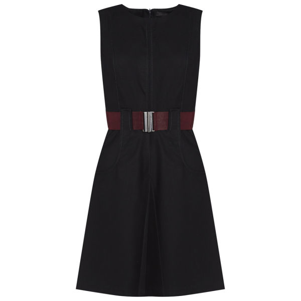 Victoria Beckham Women's Tailored Woven Dress - Navy