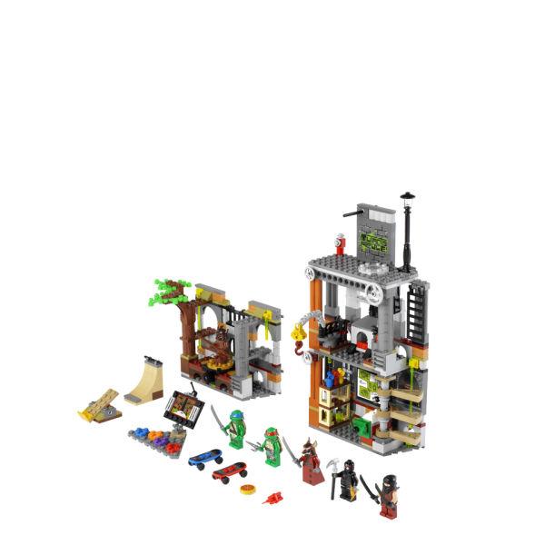 Building Toys For Teenage Boys : Lego ninja turtles turtle lair attack  iwoot