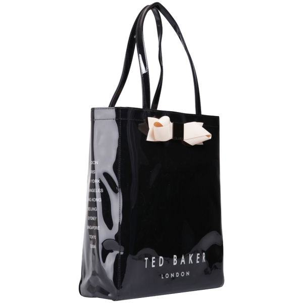 04f9e51c1208c7 Ted Baker Larcon Bow Icon Bag - Black  Image 2