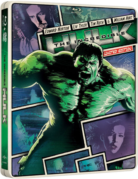 Incredible Hulk Import Limited Edition Steelbook