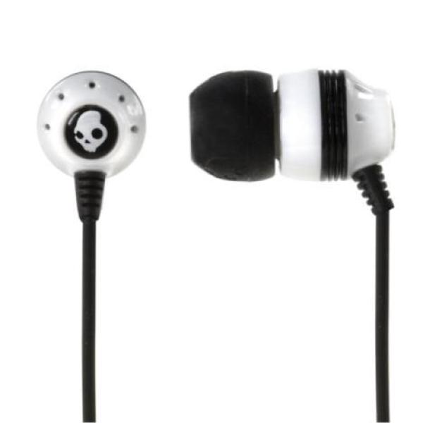 Sport earbuds white - black and white skullcandy earbuds