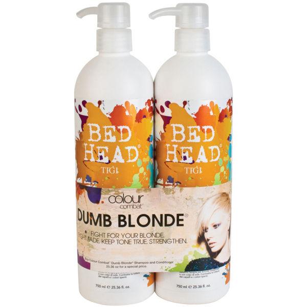 Tigi Bed Head Colour Combat Dumb Blonde Tween Duo 2 Products Image 1