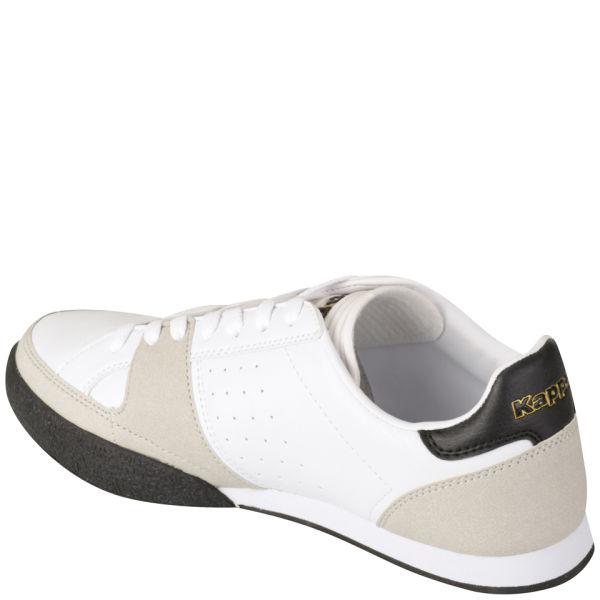 Kappa Men s Filetto Trainers - White Black Gold Sports   Leisure ... 358324e19efe9