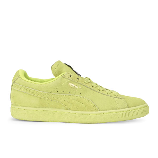 Puma Women's Suede Classics Trainers - Sunny/Lime