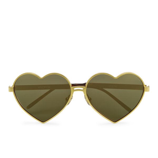 Wildfox Women's Lolita Deluxe Sunglasses - Gold