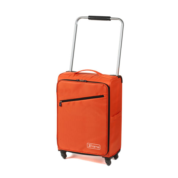Z Frame 22 Inch Super Lightweight 4 Wheel Suitcase - Orange Clothing ...