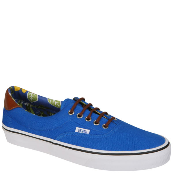 Vans ERA Aloha Canvas & Leather Trainer - Princess Blue