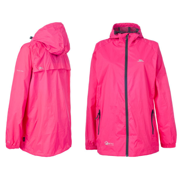 28c6d345a31 Trespass Women s Qikpac Jacket - Pink Flint Sports   Leisure ...
