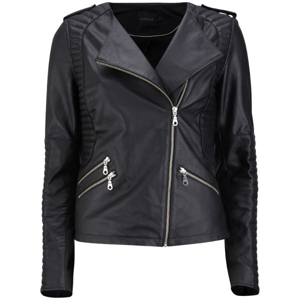Gestuz Women's Plexi Jacket - Black