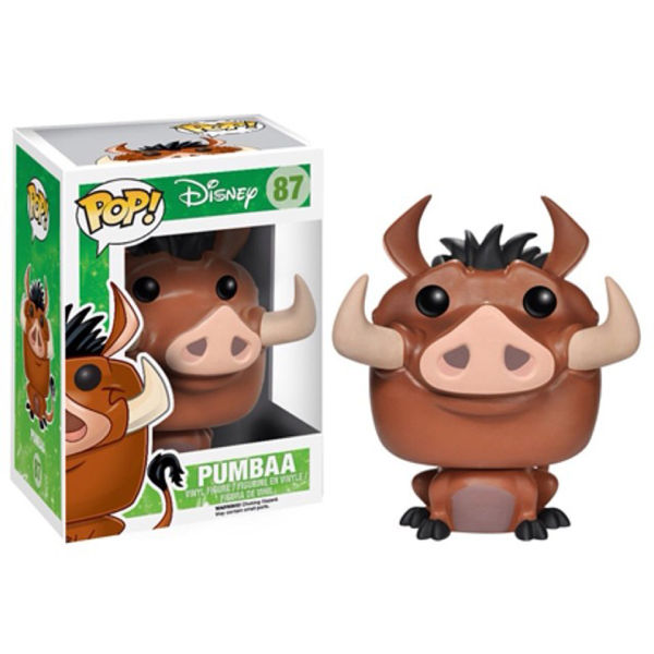 Disneys The Lion King Pumba Pop! Vinyl Figure