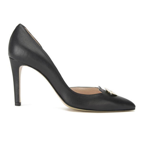 Jerome Dreyfuss Women's Pinpin Lips Heeled Court Shoes - Black