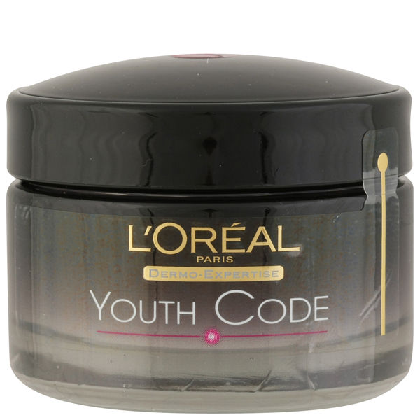 Crema de noche antiarrugasDermo Expertise Youth CodeRejuvinating Anti-Wrinkle Night Cream de L'Oreal Paris (50 ml)