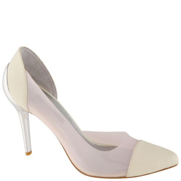 Senso Women's Yugo Stiletto Heels - White/Blush