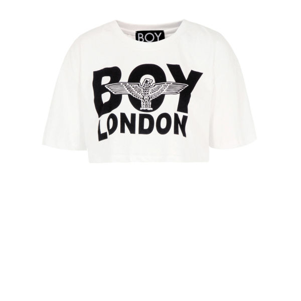 Boy London Women's Crop Top - White