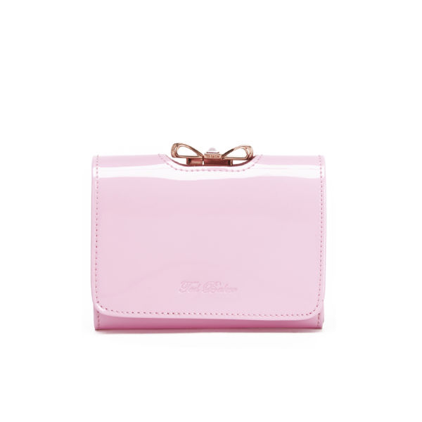 Ted Baker Small Crystal Bow Purse - Dusky Pink