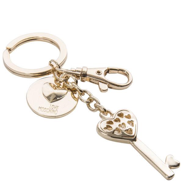Love Moschino Loveheart Keyring